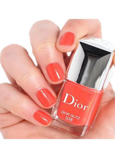Dior Dior Vernis Nail Lacquer 538 Dior Glitz Oje Oranj